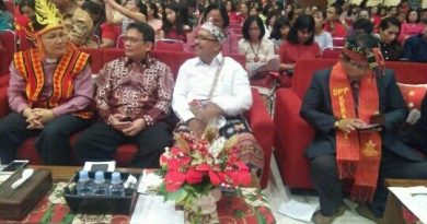 Sekretaris Daerah Pemkot Depok Drg.Hardiono,Sp.BM Hadiri Natal PGI-S Depok