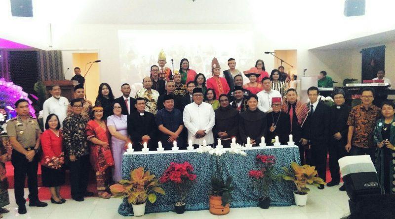 Wakil Wali Kota Depok Hadir di Perayaan Natal FKKUKD