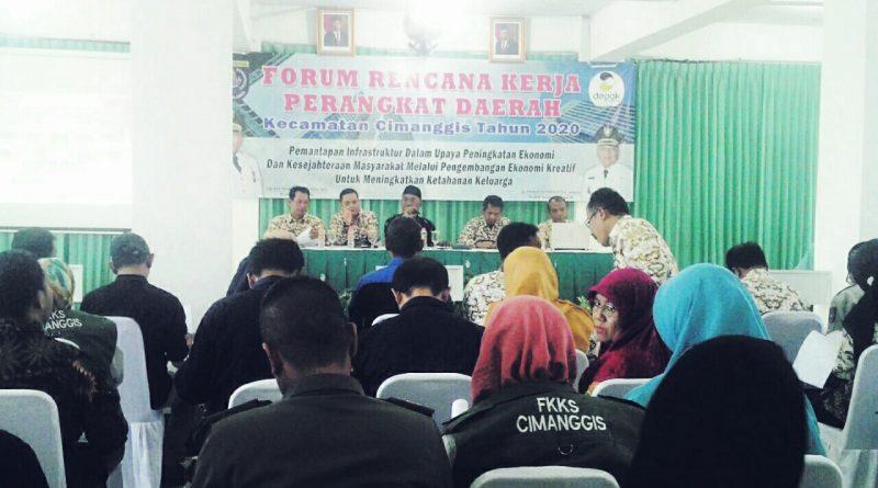 Kecamatan Cimanggis Gelar Forum Renja Tahun 2021